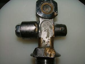 seized valve